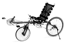 photo of recumbent bicycle